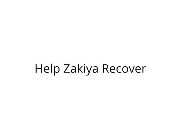 Help Zakiya Undergo Treatment for Kidney Failure