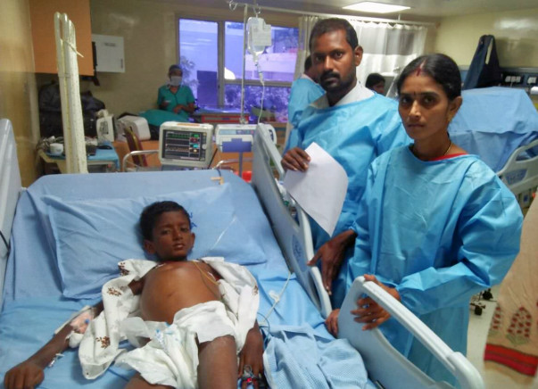 10-year-old Bhanu urgently needs a liver transplant