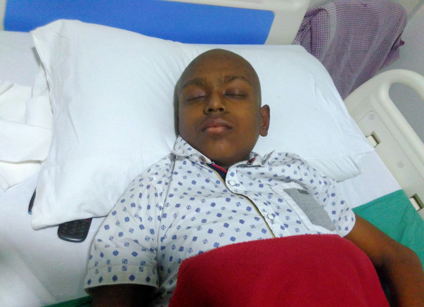 Help Rhitik Get Treatment For Bone Cancer
