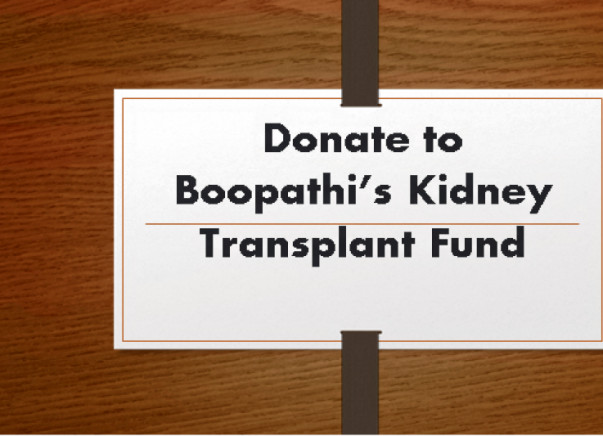 Help for Kidney Transplant Operation