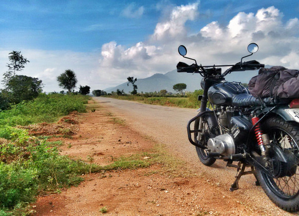 22+ countries, 25,000 kms, 1 motorcycle