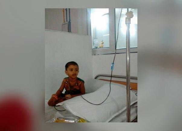 Save 2-Year-Old Baby Ganyasri From Cancer