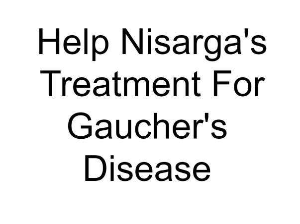 Baby Nisarga's Treatment For Gaucher's Disease