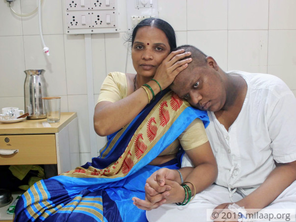 Sarvesh Khaire needs your help to fight disease