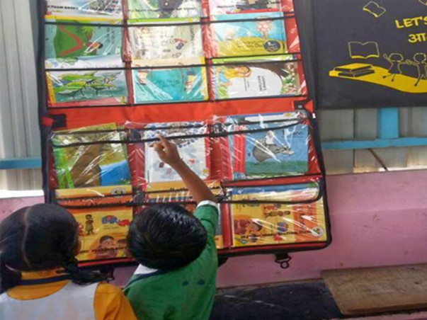 I am fundraising to take the magical world of books to students through mobile library