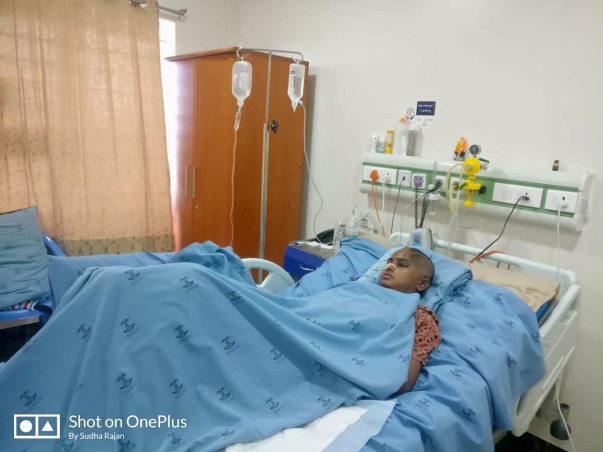 Help My Friend Sudha Rajan Recover From Accident