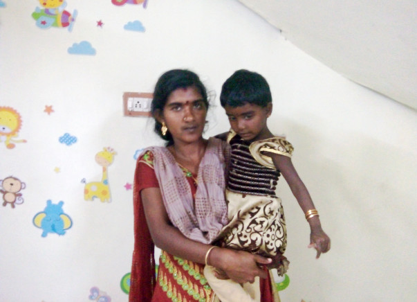 3-year-old Sathya urgently needs a Heart Surgery