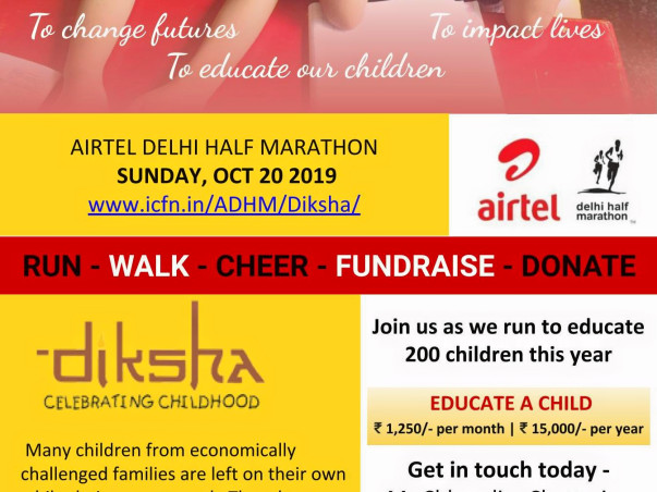 Help Sponsor a Child's Run and Education