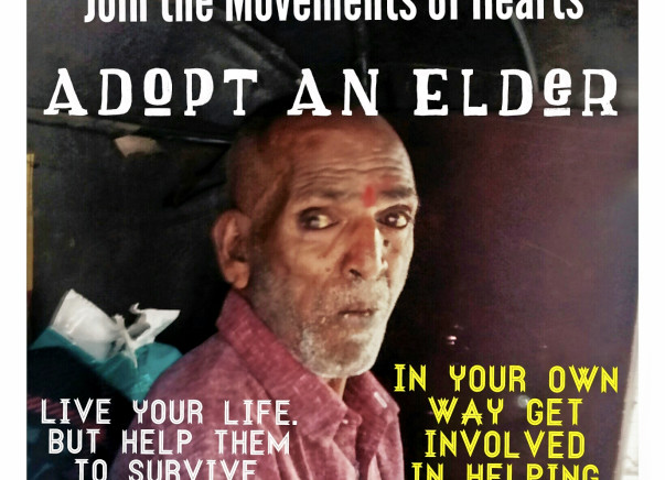 I am fundraising to help provide basic amenities to the homeless elderly people.