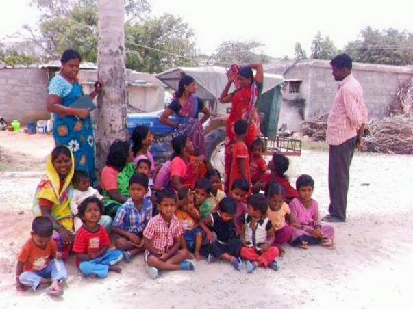 Nandi Hillathon: Education for quarry workers' children, Chikballapur