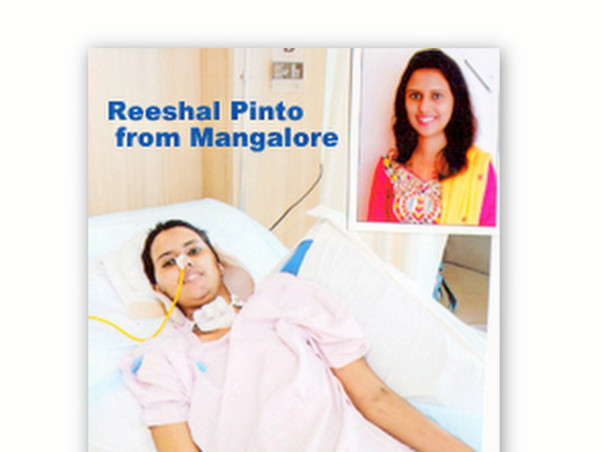 Help Reeshal Pinto With Her Sustained Spinal Cord Injury