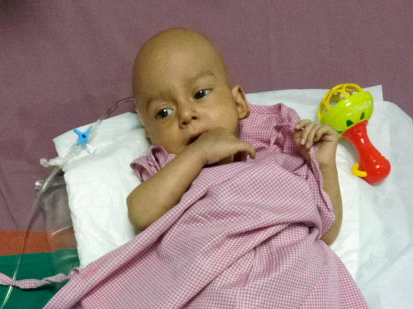 Help Shoaib fight Tumor - (Age: 1 year now)