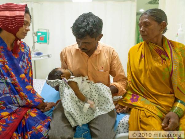 Help Vijaya's Baby Fight Chronic Liver Disease