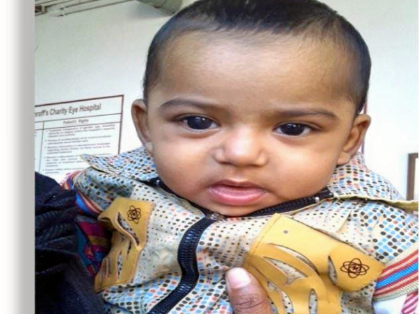 Donate to save Mehtab from retinoblastoma (cancer of eye)
