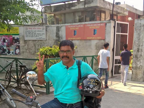 Solo Bike Ride - Save Daughter, Honour Daughter across India