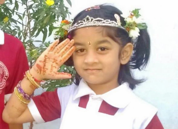 """Save my daughter Sahasra –The only option is """"Bone Marrow Transplant"""""""