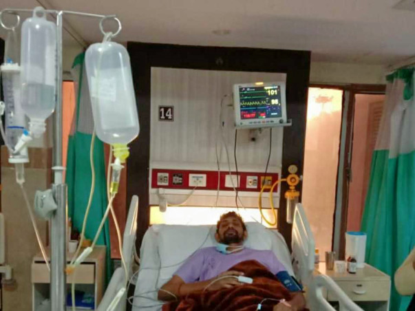 42 years old Ashok needs your help fight Double Lungs Transplant