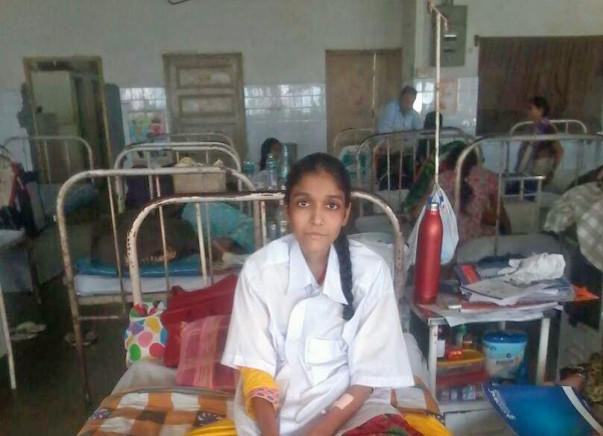 Help Asra undergo a liver transplant and save her life