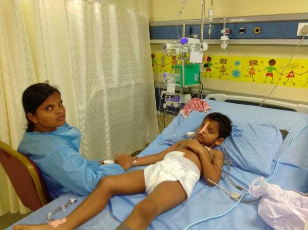 Help 5-year-old Balaeswar fight severe stomach bleeding