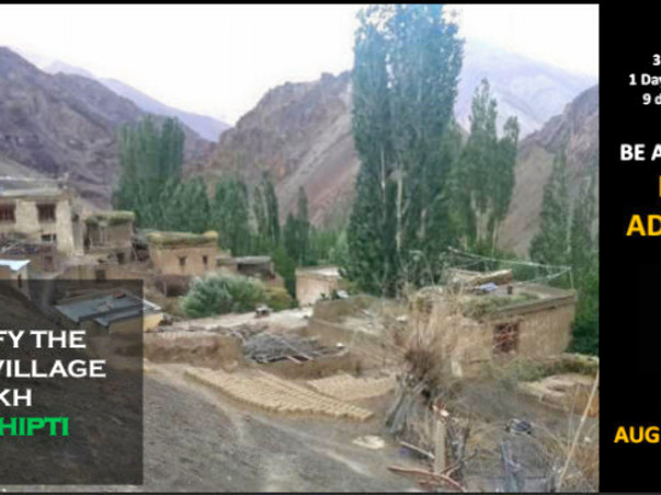 Help me raise funds to light up a remote village in Ladakh with GHE