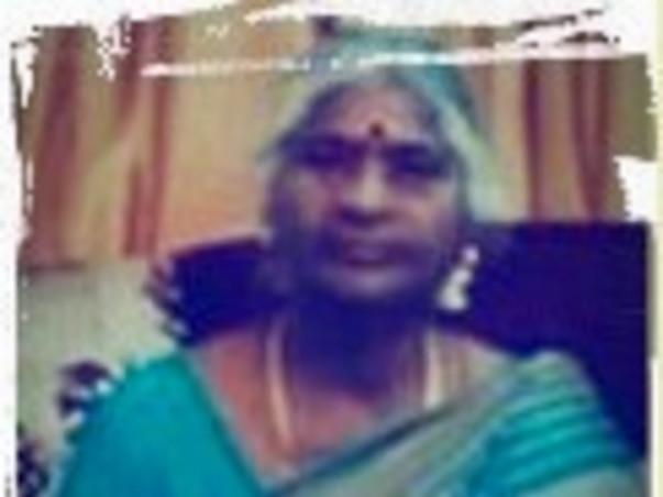 Muniyammal Sampath fighting with breast cancer