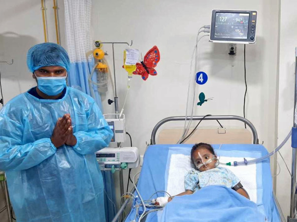Support Rudra Recover From Pneumonia