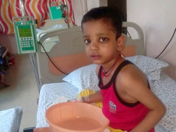 Help Master Ganesh fight Leukaemia