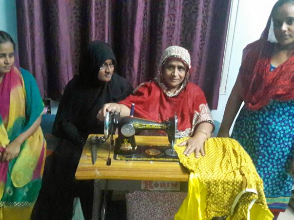 Help Haseena in her empowement - Help  her children educate