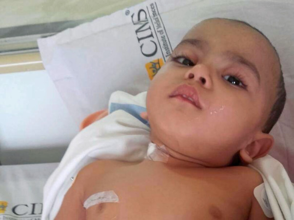 Help For Severe Thalassemia Operation For 1 Year- Old Child