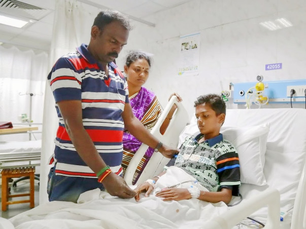 Diwakar needs an aggressive chemotherapy to survive