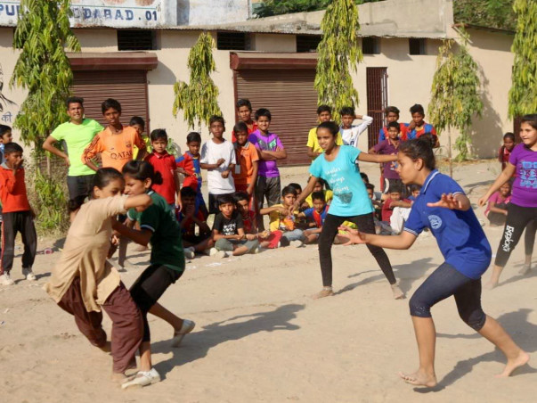 Help us make sports accessible to underprivileged children in Amdavad