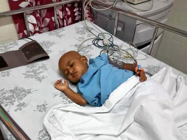 2 years old Dimpanna R needs your help fight  blood cancer (Acute lymphoblastic leukemia)