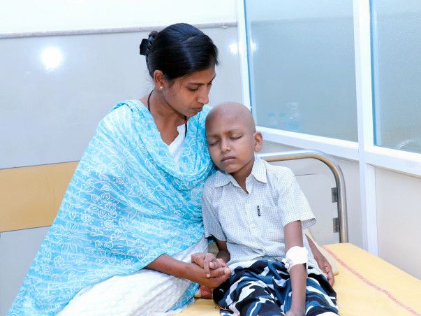 Alcoholic Husband Leaves Wife Alone In A Fight To Save Son From Cancer