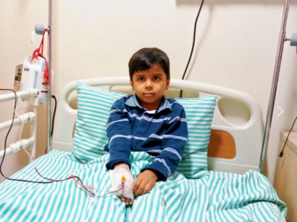 HELP LITTLE VIHAAN TO FIGHT THALASSEMIA (A CRITICAL BLOOD DISORDER)