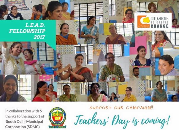 For Teachers' Day, support C3's L.E.A.D. Fellowship for teachers & HM!