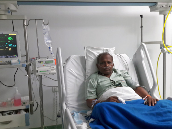 Help Siddharth Ramvanshi Fight Liver Cancer