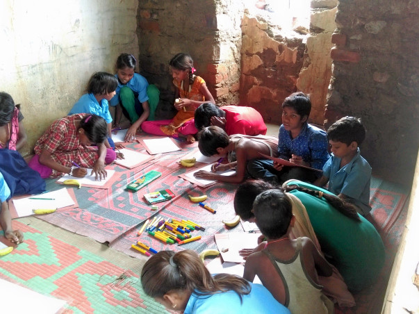 Library for tribal kids