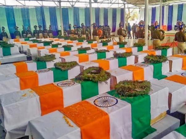 Pulwama Martyrs Families Fund - An Anna University Alumni Initiative