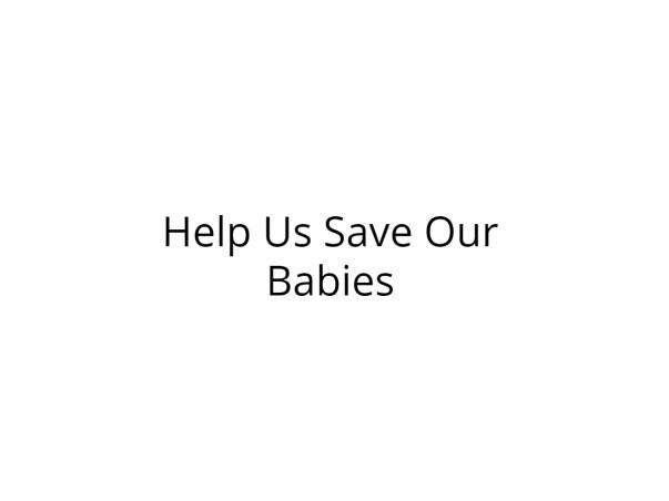 Please Help My Premature Twins Survive