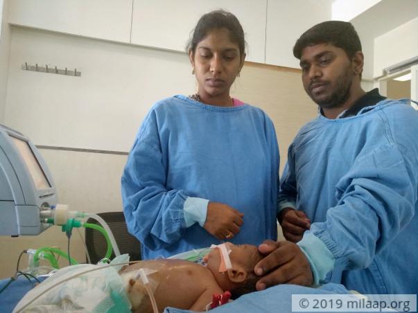 24 Hours To Help This Newborn Get A Lifesaving Open Heart Surgery