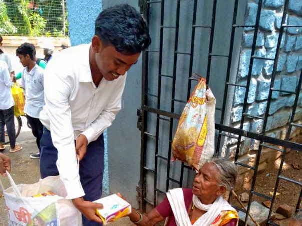 Help Sunny Sumit provide Foods for poor people