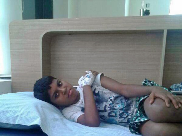 Pravin needs a bone marrow transplant