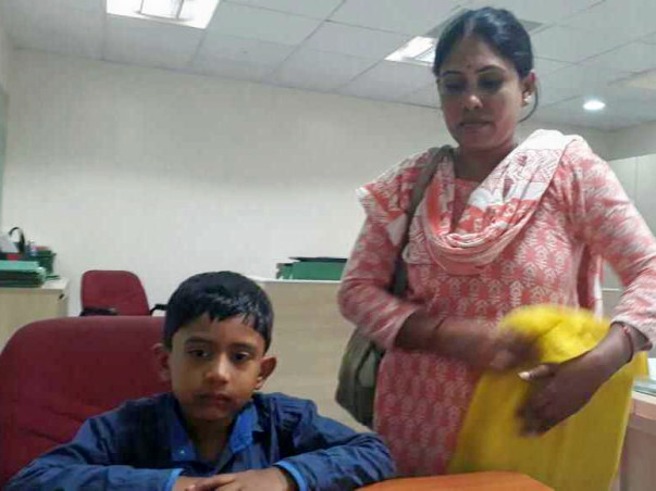Help 6-year-old Yogi fight a rare blood disease