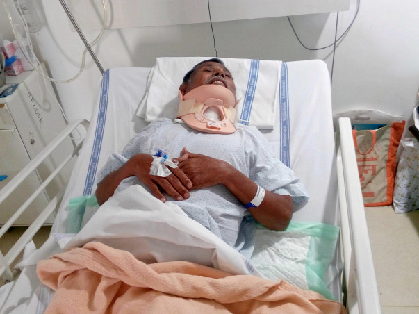 Help 67-Year-Old Raosaheb Jagdale Undergo A Spine Surgery