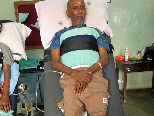 This 63 Years Old Needs Your Urgent Support In Fighting Accident