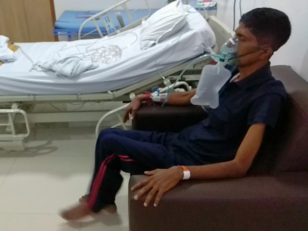 Help my bro to recover by undergoing lung transplant