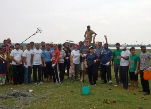 We are fundraising for the Lake Cleaning & Partial Restoration at Madambakkam Lake