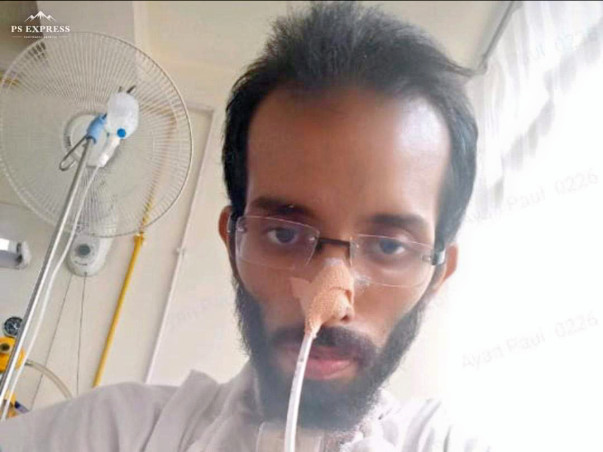 30 years old Ayan needs your help fight Gullian barre syndrome