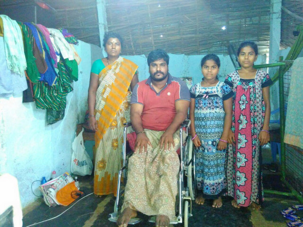 Help  a poor family