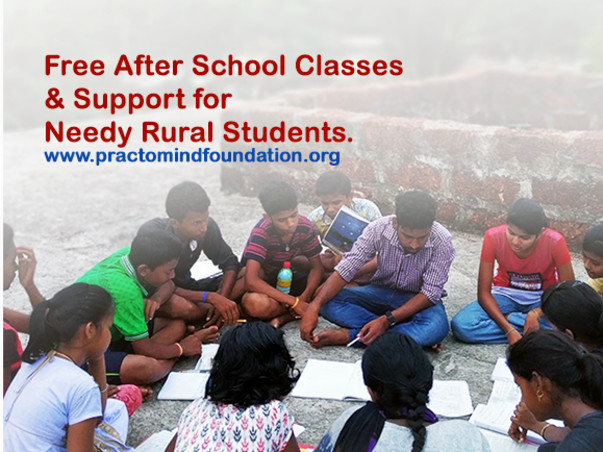 Free After School Support for Needy Rural & Tribal Students.